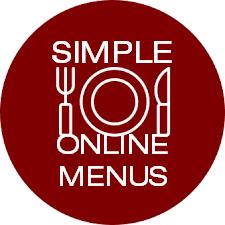 Simple Online Menus